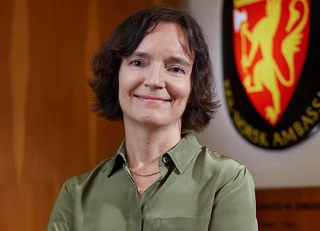 Anita Nergaard, the Norwegian Ambassador to Singapore